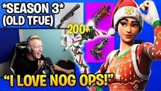 Tfue Plays With Rare Nog Ops Skin Season 3 When He Had Skins