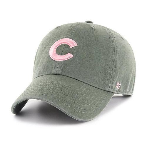 outlet store e3265 327a5 Chicago Cubs Women s Moss Adjustable Clean-Up Hat  ChicagoCubs  Cubs   EverybodyIN  FlyTheW