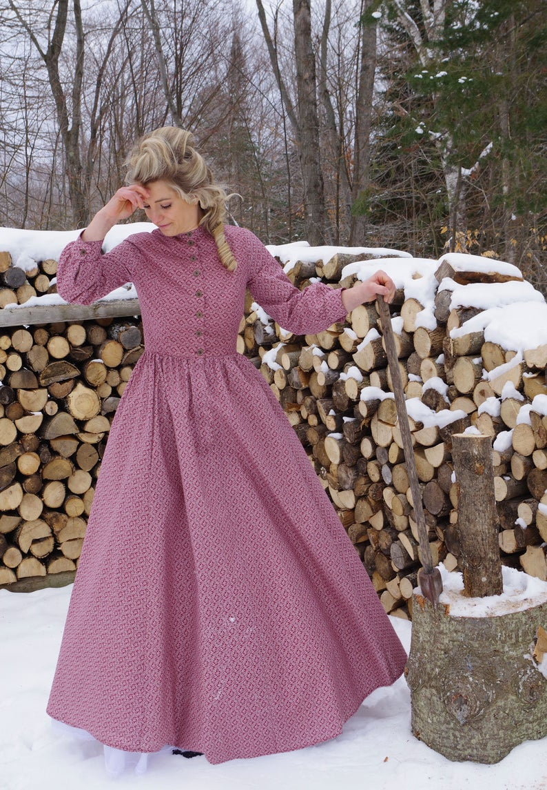 Victorian Styled Work Dress Etsy In 2021 Old Fashion Dresses Dresses For Work Dresses [ 1145 x 794 Pixel ]