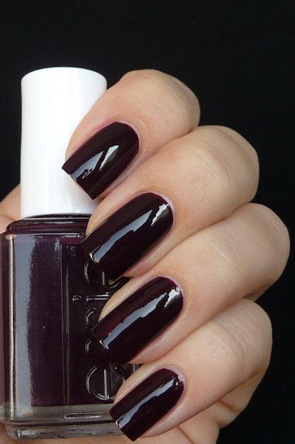 Essie Velvet Voyage A Dark Purple Funky Nails Fancy Nails Nails