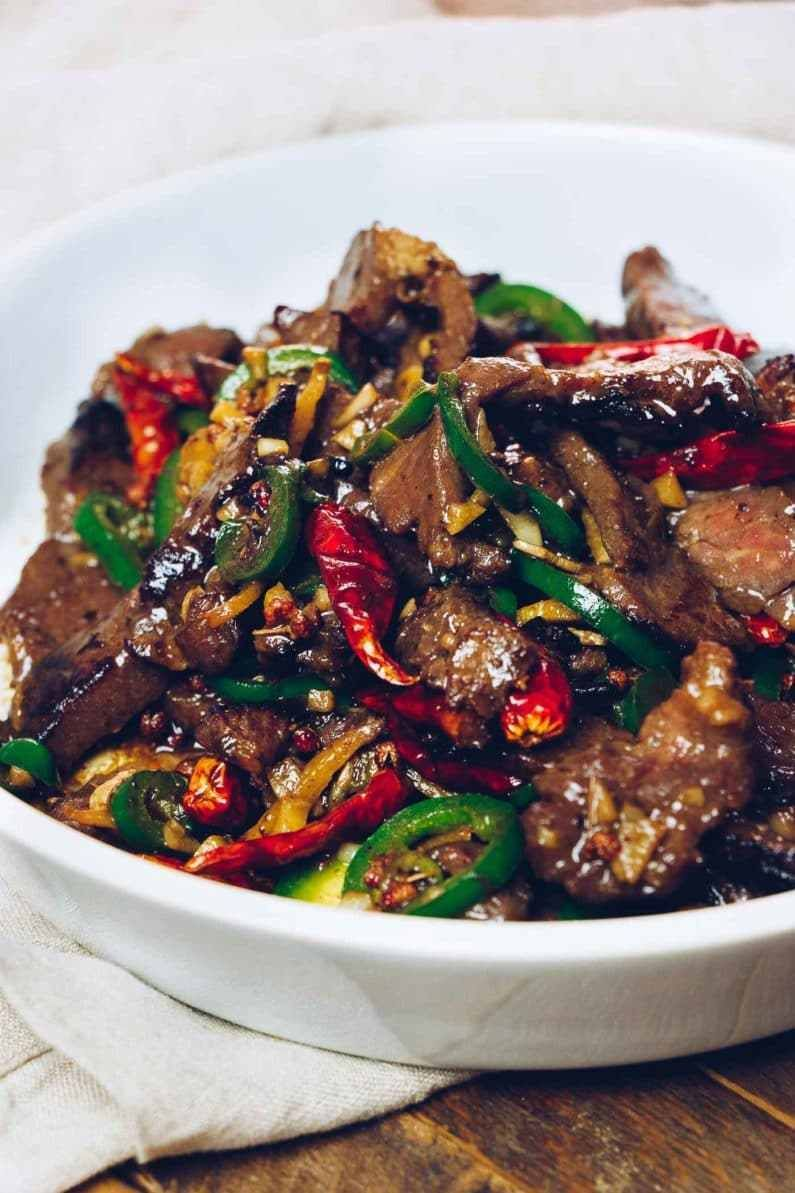 Paleo Hunan Beef Stir Fry Whole30 Keto Recipe Chinese Beef