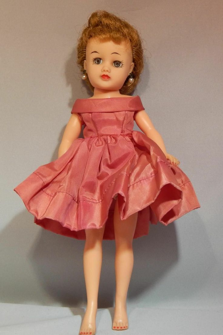 1950s Vinyl Dolls 8 9 10 Inches Ideal Little Miss Revlon Doll Red Dress 10 1 2 Inch Ebay In 2020 Fashion Royalty Dolls Vintage Dolls Revlon
