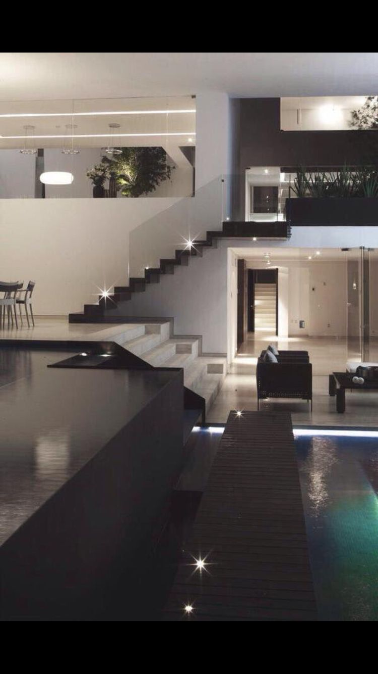 All Black Everything With Images House Styles House Modern