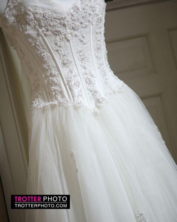 Beautiful wedding dress  www.trotterphoto.com