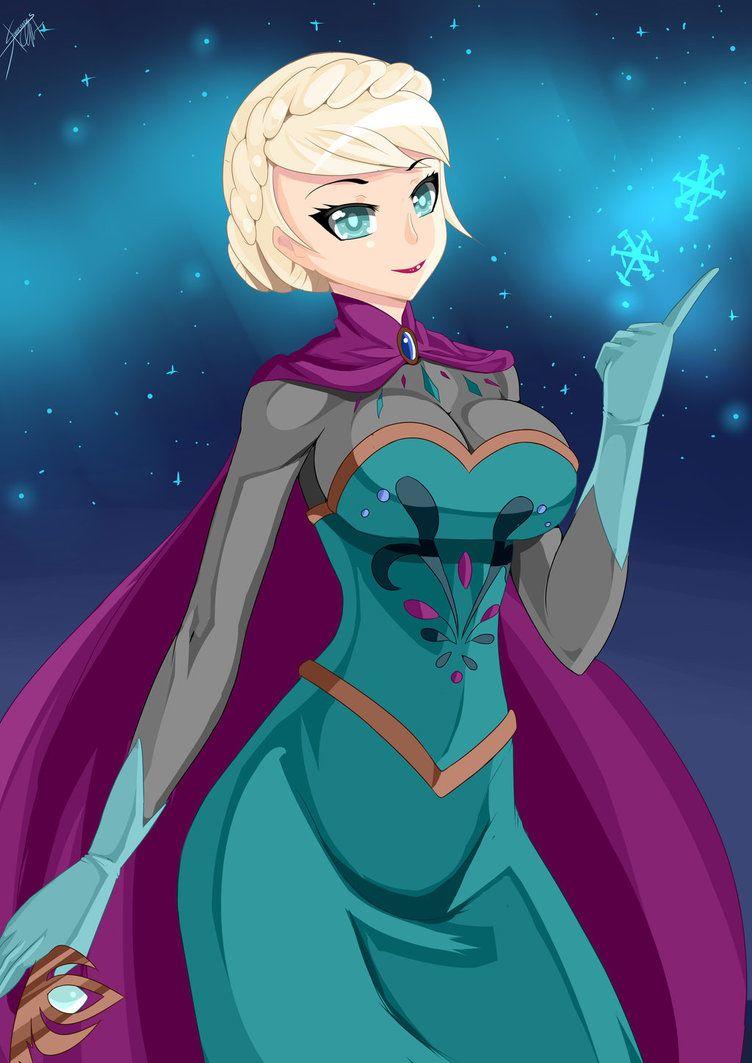 Elsa by haarmadesviantart on deviantart disney elsa