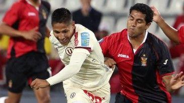 La U ganó 1 a 0 al Melgar y rompió racha. Aprl 20, 2014.