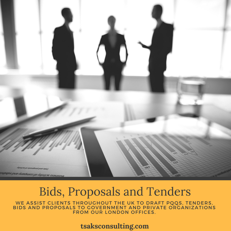 Get Tender Preparation Services Only At Tsaks Consulting