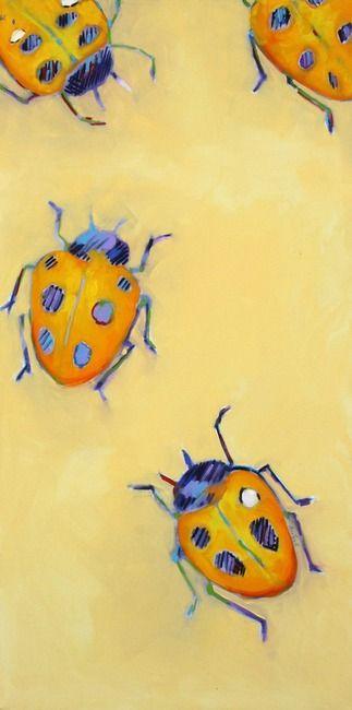 Yellow Ladybugs | Ann Tuck