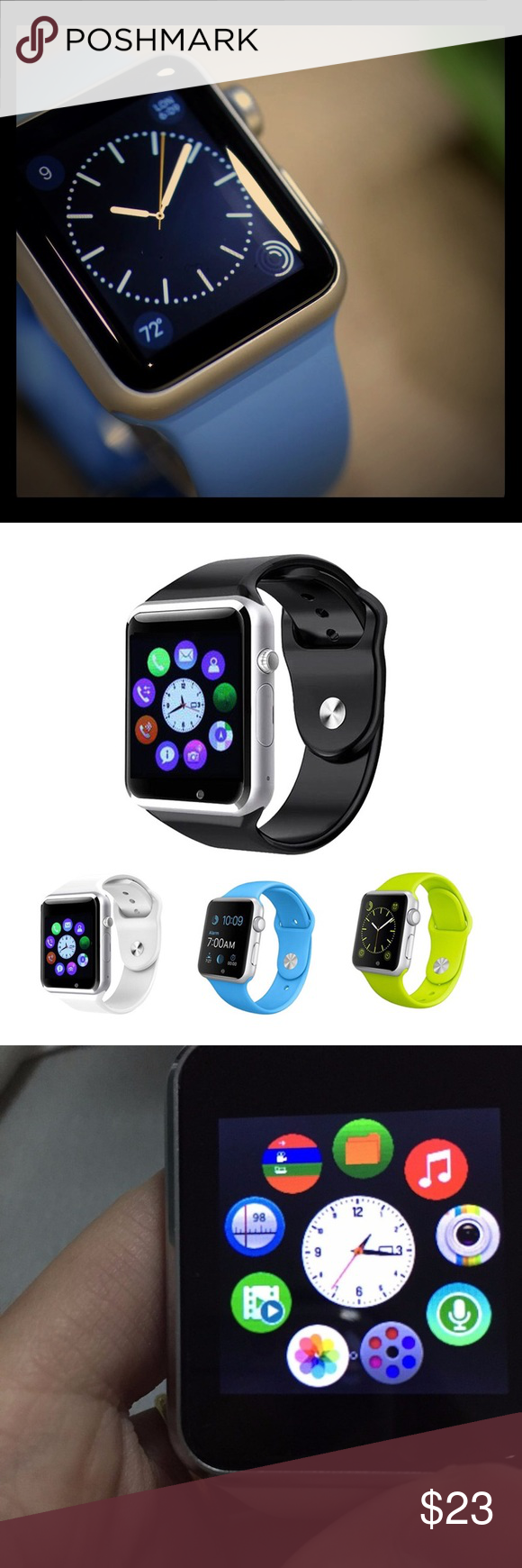 New SMART WATCH / ios and Android Functions: 1.Dial/answer ...