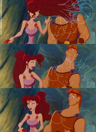 Hercules Did I Just Get Splashed By Hair Whut Ariel