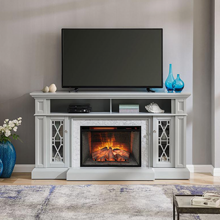 Home Decorators Collection The Home Depot In 2020 Fireplace Tv Stand Electric Fireplace Tv Stand Fireplace Tv