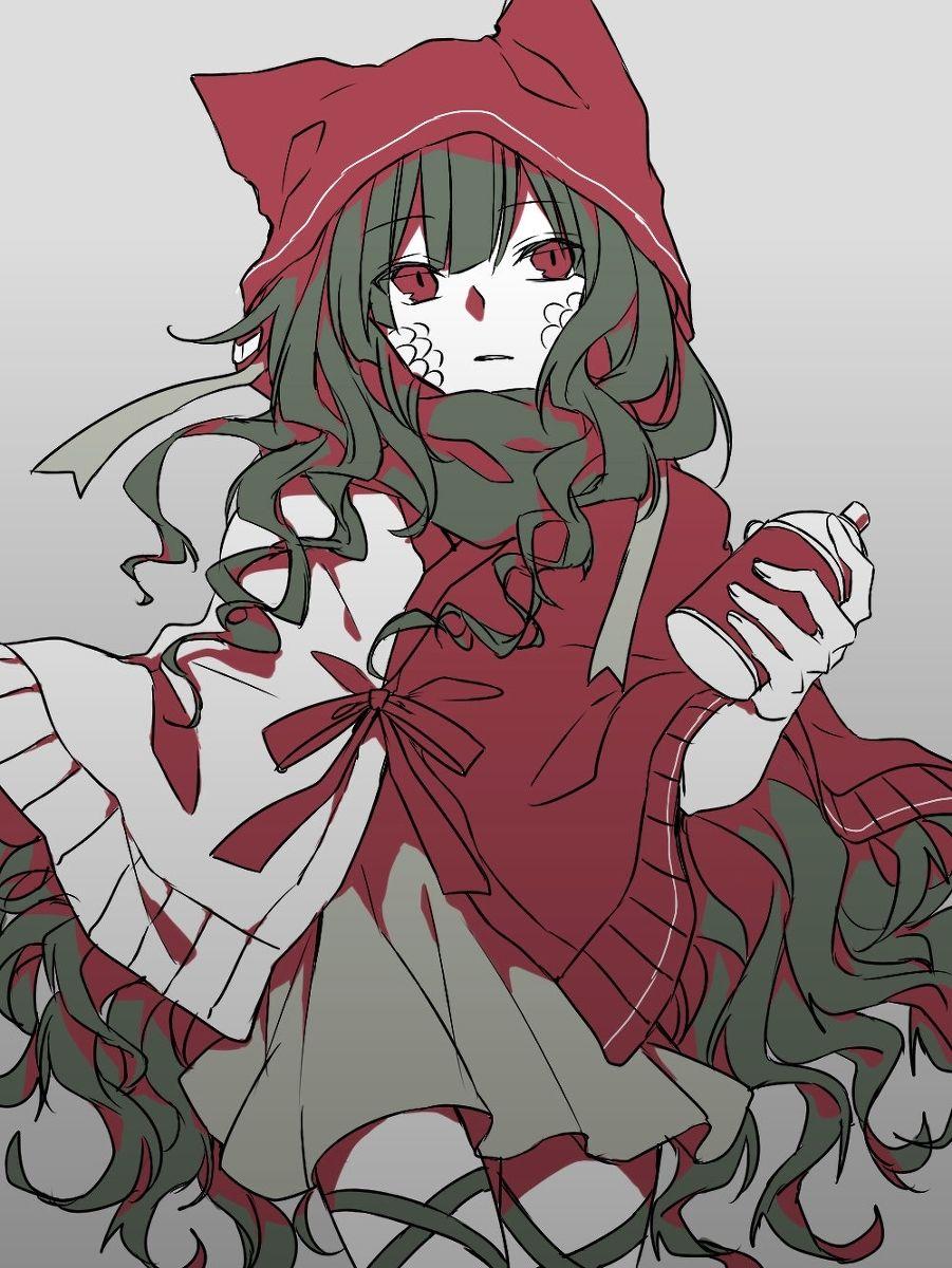 カゲプロ詰め3 キャラクターデザイン イラスト カワイイアニメ