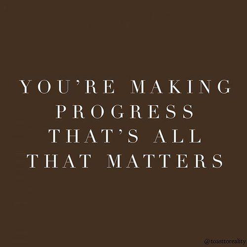 Praise your progress ✨