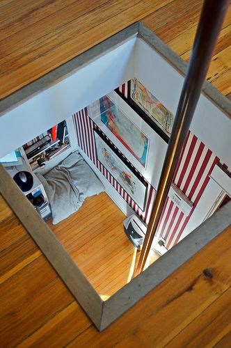 fireman's pole from attic to bedroom bob mainly