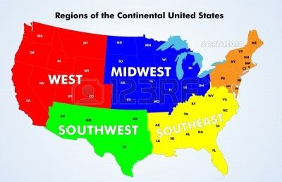 17 Best images about Regions of the United States on Pinterest ...