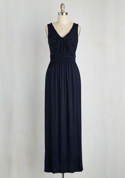 42f67da8df5 Brunch at Home Maxi Dress in Navy