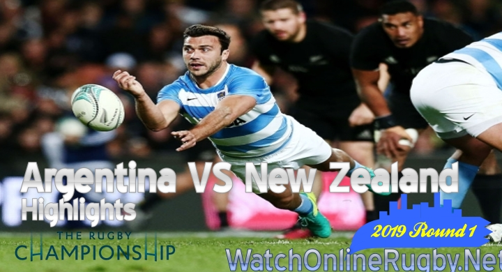 Round1 Argentina v New Zealand Highlights Rugby