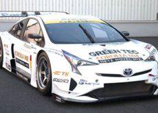 Si no te gusta el nuevo Toyota Prius espera a ver esta versión de carreras