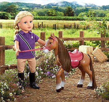 Journey Girls Pet Pony Set
