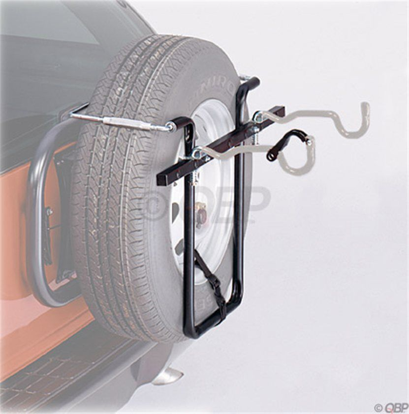 Tire Rack At The Back Of The Car Curated By Quality Tires 1939