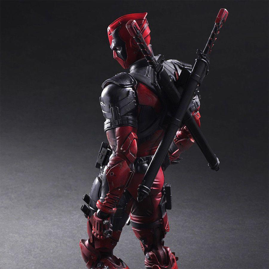 "Play Arts Kai PA Deadpool Action Figure Model Doll New Marvel PVC 10/"" Statue Toy"