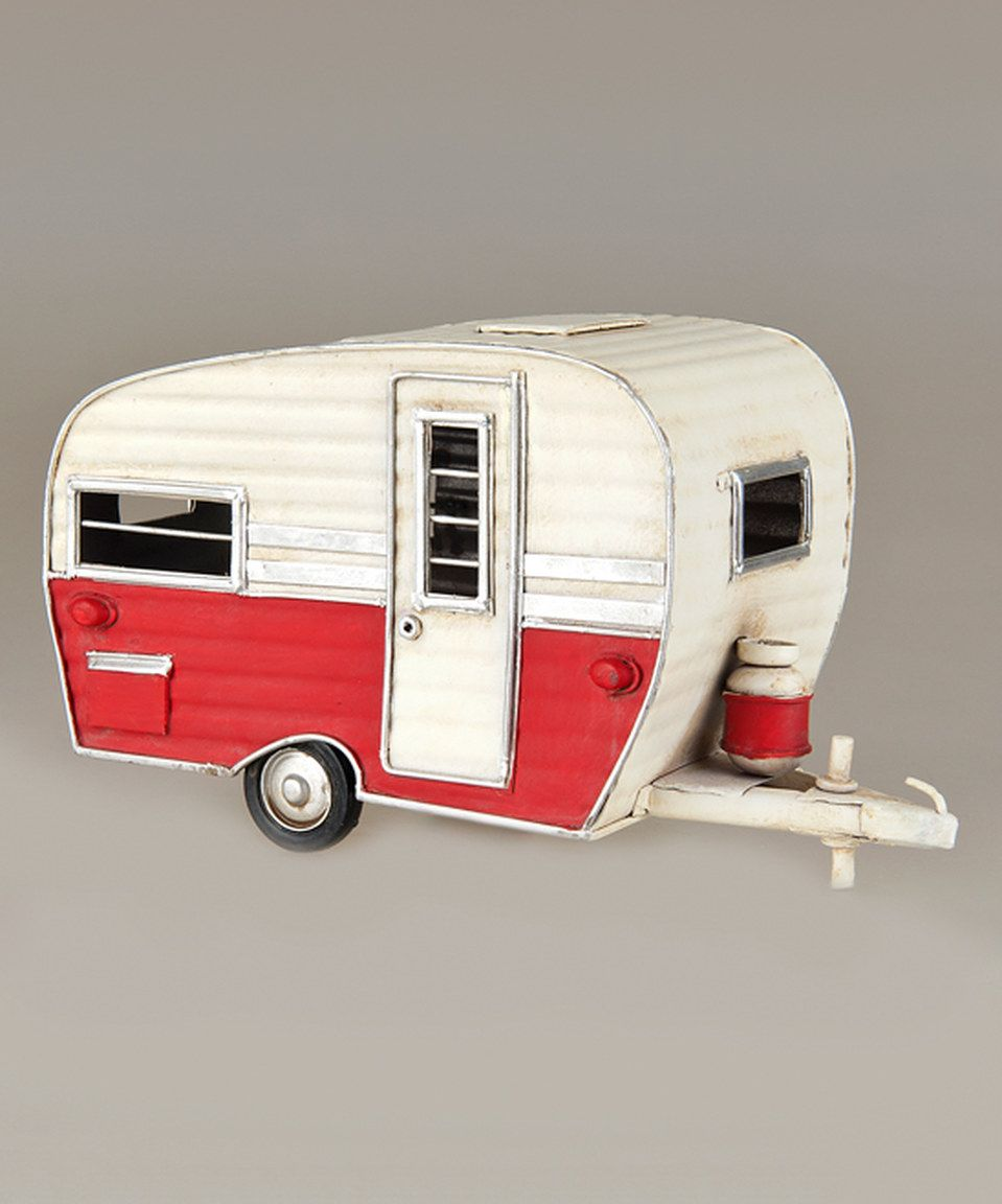 Love this Vintage Camper Ornament by C & F on #zulily! #zulilyfinds ...