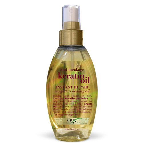 Try These At Home Keratin Treatments When You Just Can T Deal With Frizz Keratin Oil At Home Keratin Treatment Keratin
