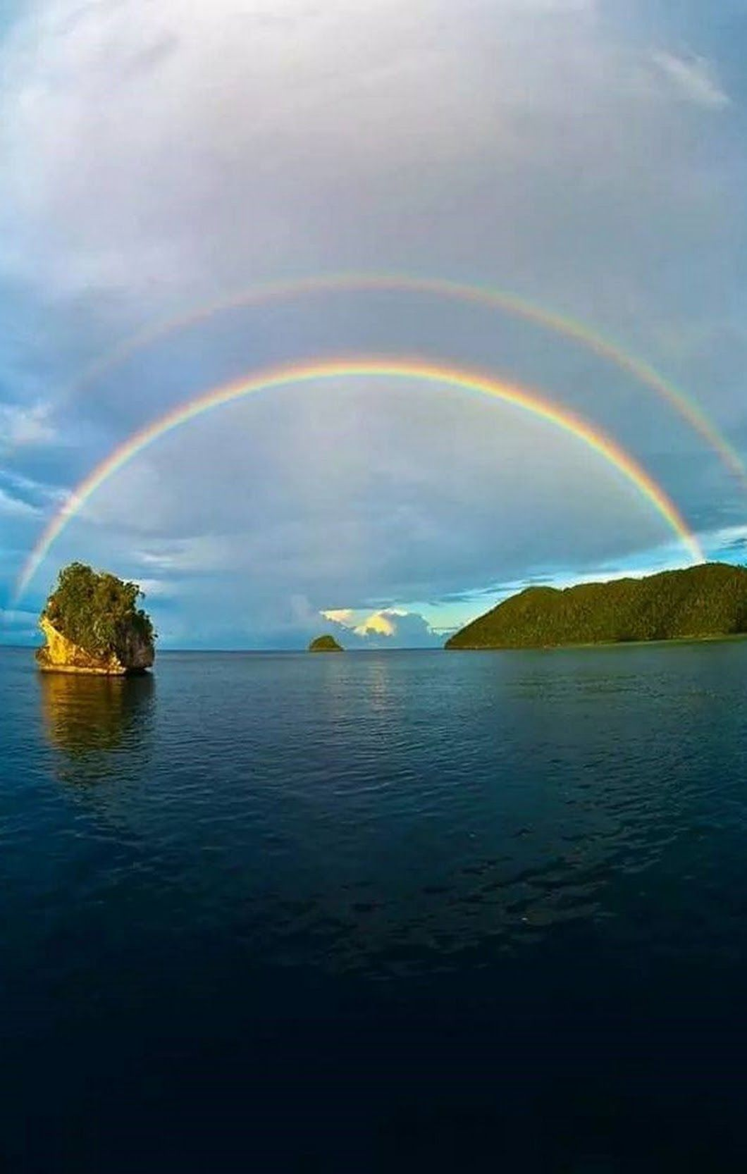 Good Morning Dear Friends Beautiful Nature Beautiful Landscapes Rainbow Sky