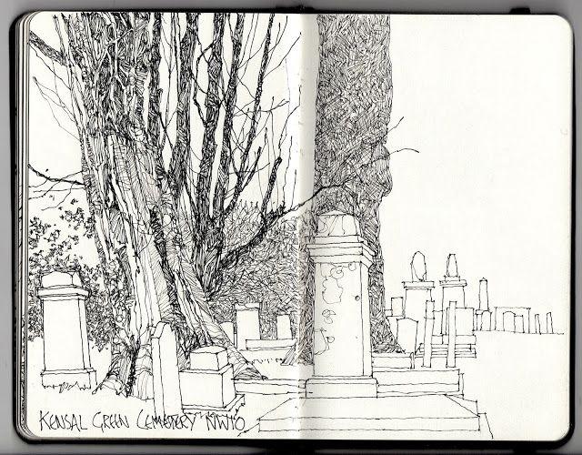 kensal green cemetery w10 nw10
