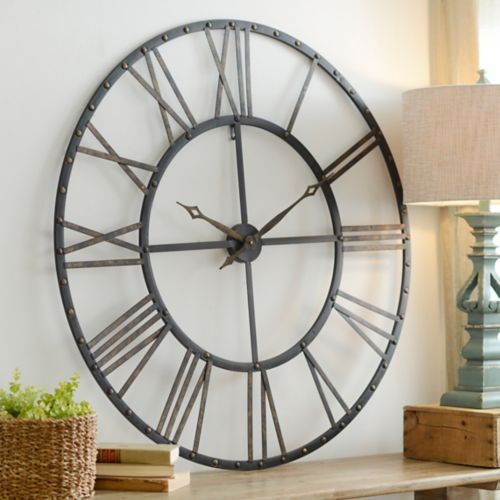 Addison Open Face Clock Clocks Living rooms and Room