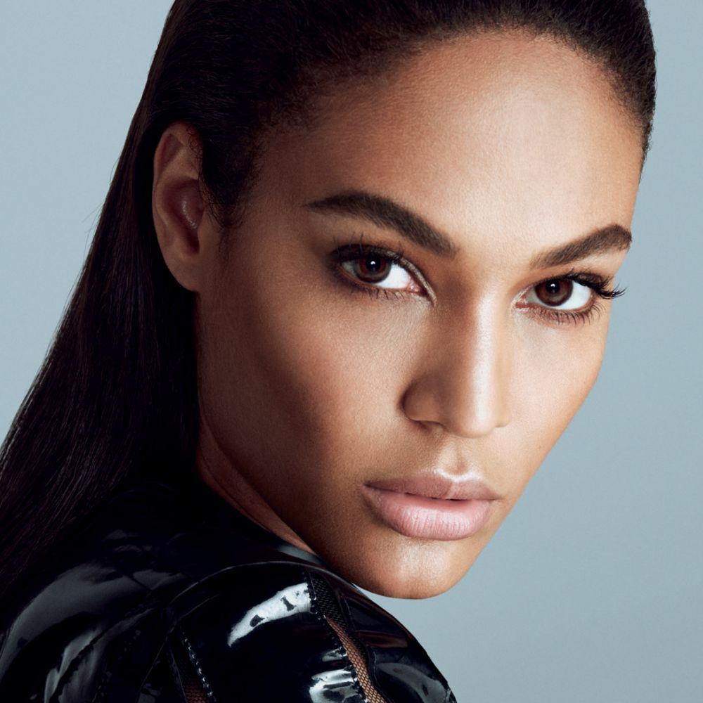 Puerto Rican model Joan Smalls poses for pictures on the