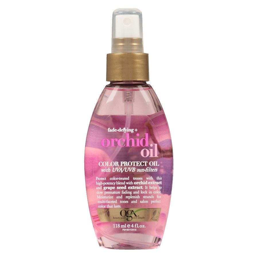 Ogx Fade Amp Defying Orchid Oil Color Protect Oil 4 Oz 6