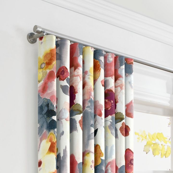 Ripplefold Drapery In 2020 Ripplefold Curtains Bold Curtains Painted Curtains