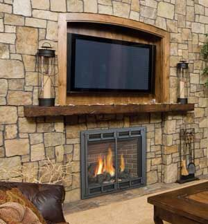 Fireplace With Recessed Tv Mount Fireplace Pinterest Tvs And Fireplaces