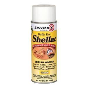 Zinsser 12 Oz Clear Shellac Spray 408 Shellac Spray Shellac Rustoleum
