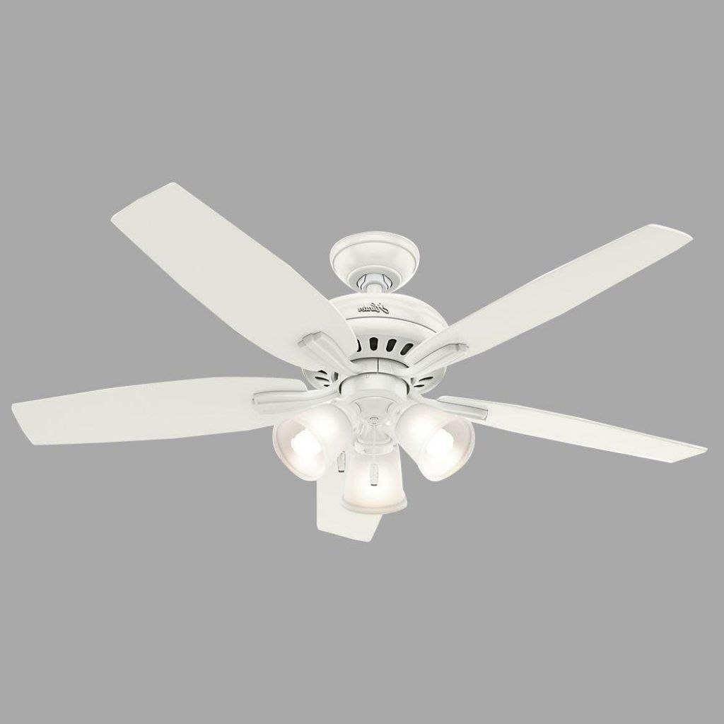 Etonnant Kitchen Ceiling Fan With Bright Light
