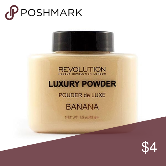 Makeup Revolution Luxury Powder Banana This powder is