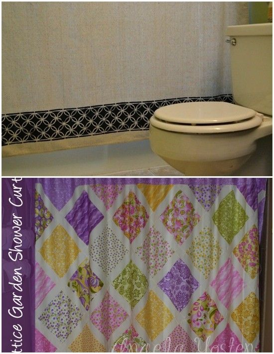 10 Ways to Spice Up Your Shower Curtain! - Tip Junkie