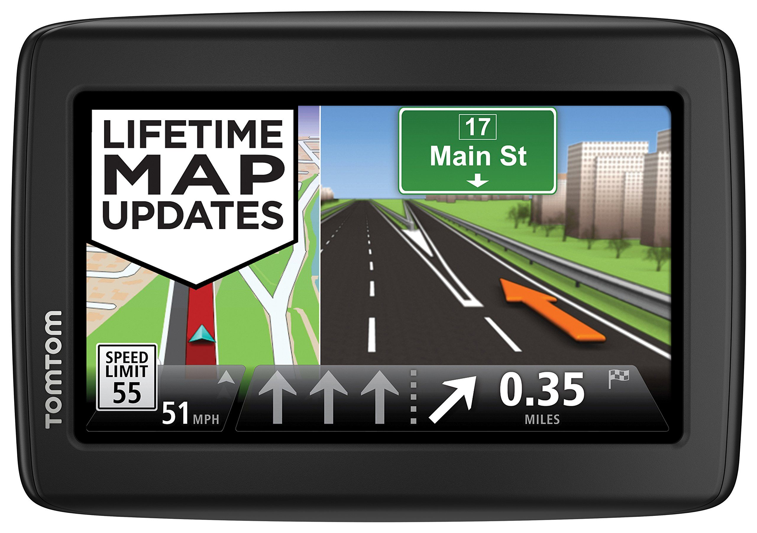 Tomtom Via 1515tm 5 Inch Portable Touchscreen Car Gps Navigation System Live Traffic Lifetime Map Updates Gps Navigation Gps Units Car Gps