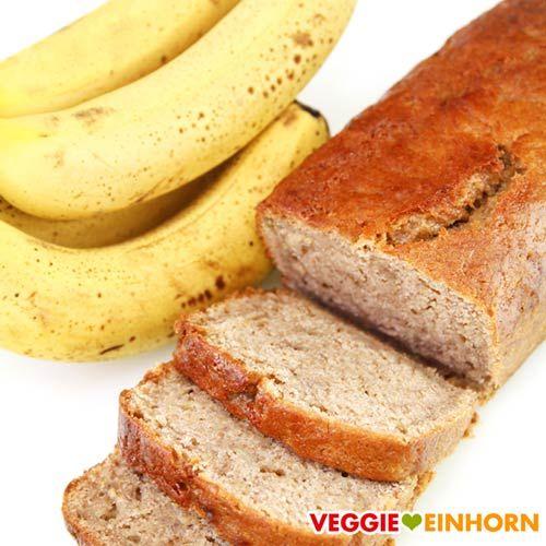 Saftiges veganes Bananenbrot | Einfach und lecker | Rezept mit Video