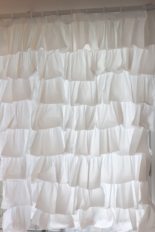 See Kate Sew Do You Like Ruffles Anthro Shower Curtain Diy