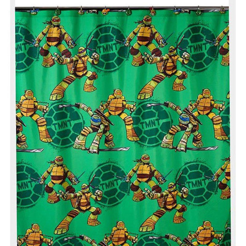 Teenage Mutant Ninja Turtles TMNT Shower Curtain