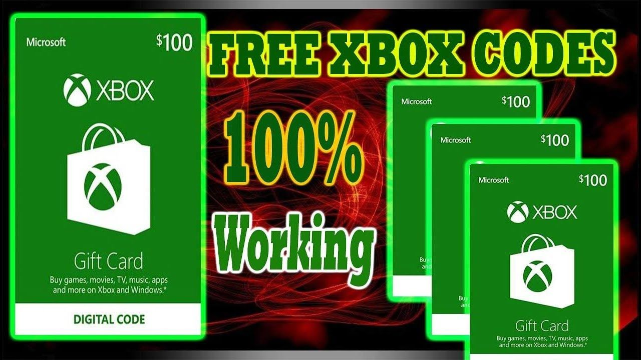 [December] How To Get Free Xbox Codes OR Free Xbox Codes WITH Xbox Live