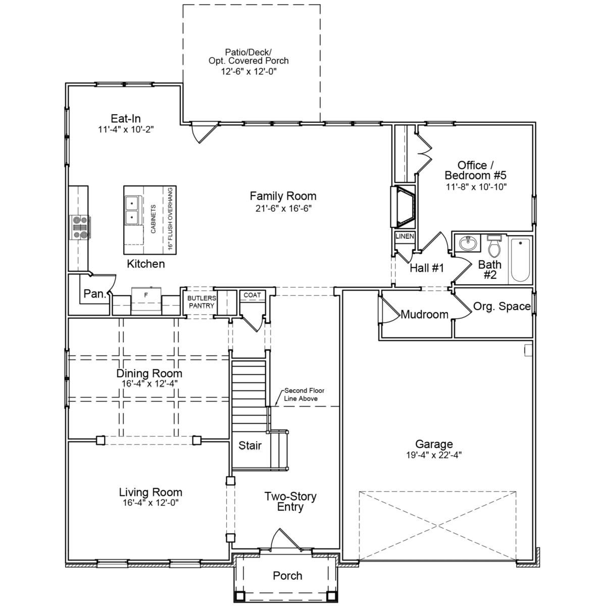 The Duvall Ii Mungo Homes Duvall Home Two Story Foyer