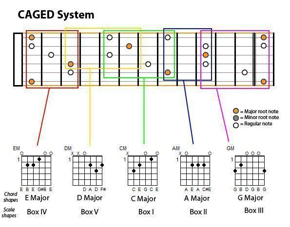 Notes on guitar fretboard chart to guitar chapter ii 2 scales notes on guitar fretboard chart to guitar chapter ii 2 scales diatonic ccuart Choice Image