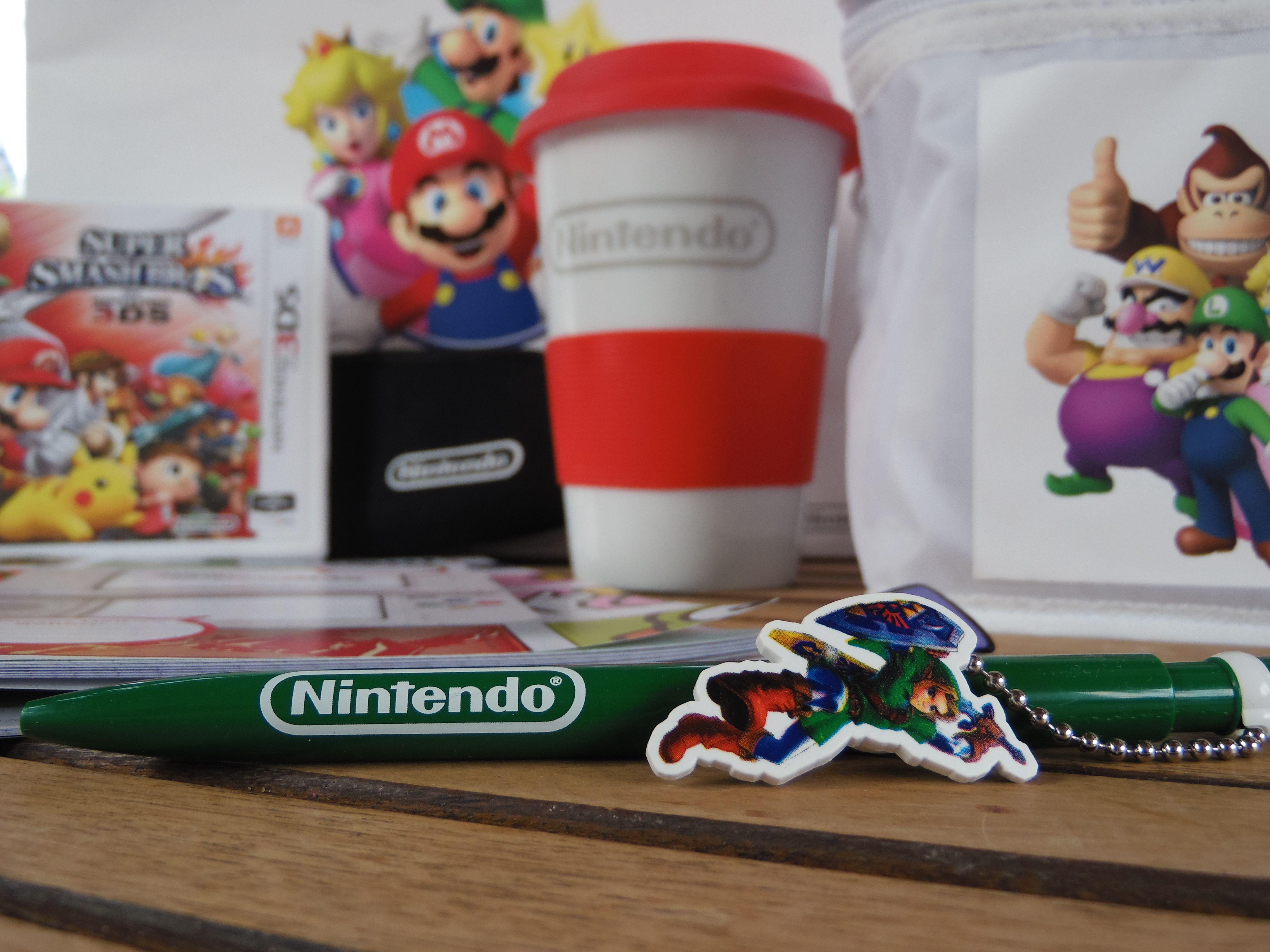 Nintendo auf dem #mfbt15  http://frinis-test-stuebchen.de/2015/10/nintendo-beim-mfbt15-bloggertreffen-super-smash-bros-fuer-3ds/