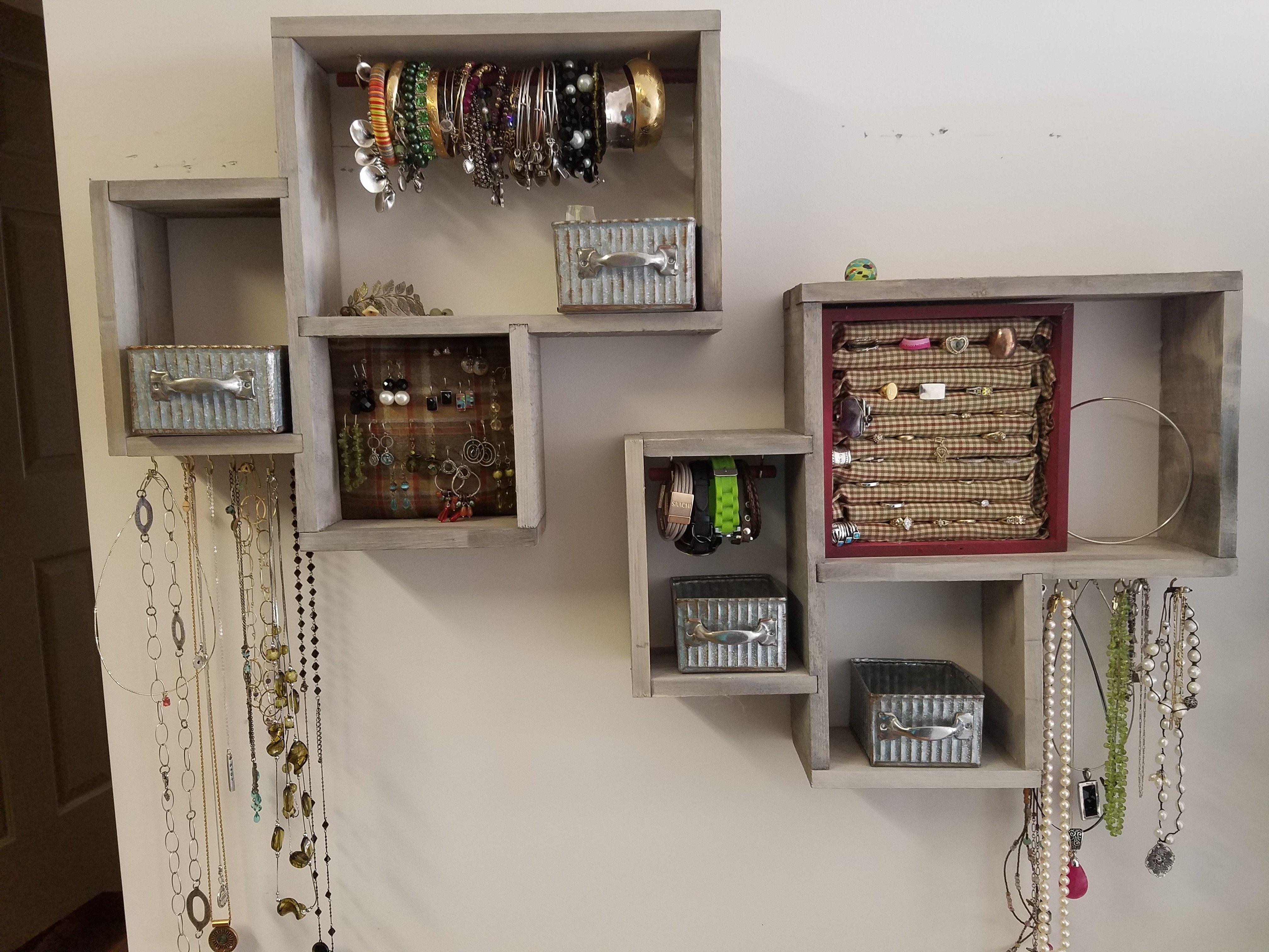 Pin By Melinda Bender On Diy Jewelry Organizer Jewelry
