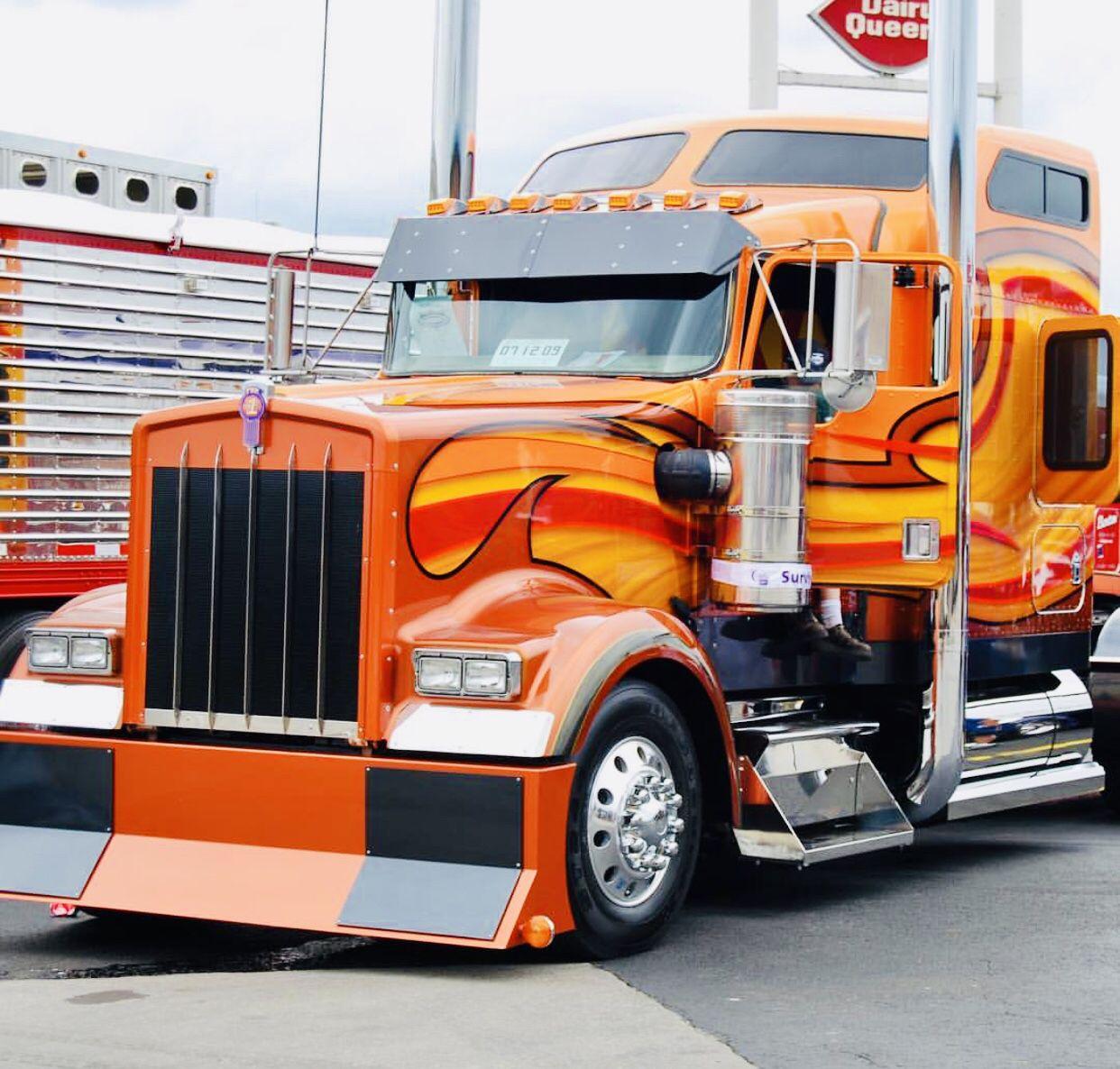 Kenworth W900 Kenworth Trucks Customised Trucks Big Rig Trucks