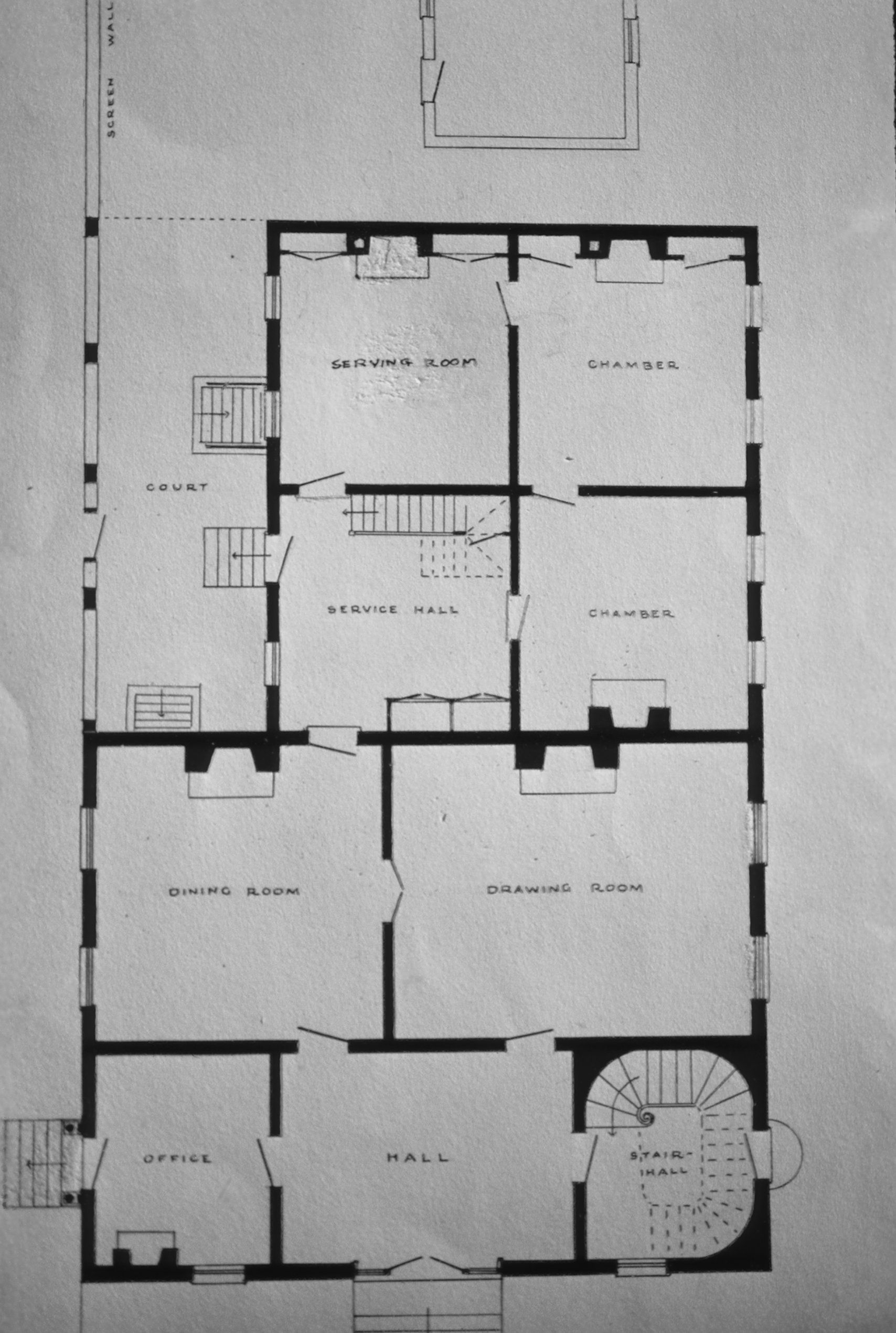Hunt Morgan House Plans John Wesley Hunt House Hunt Morgan House Note On Morgan House House Hunting Digital Library