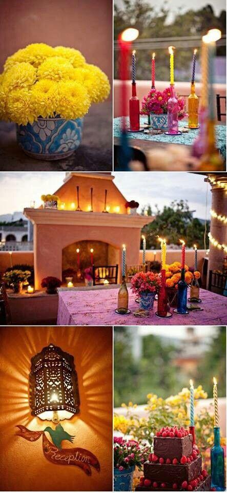 Centros de mesa decoracin boda mexicana mexicana decoracin boda mexicana altavistaventures Image collections
